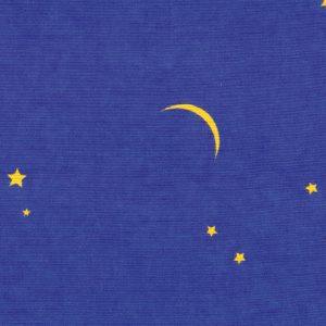 """Kissenbezug für Lagerungskissen mit Dessin """"Mond & Sterne"""": Stoffdesigns für Kissenbezüge aus Baumwolle"""