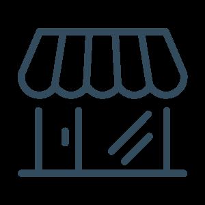Icon Produkte: viele Produkte rund ums Thema Lagerungshilfen