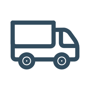 Icon Versand: schnelle Lieferung von Lagerungshilfen und Lagerungskissen